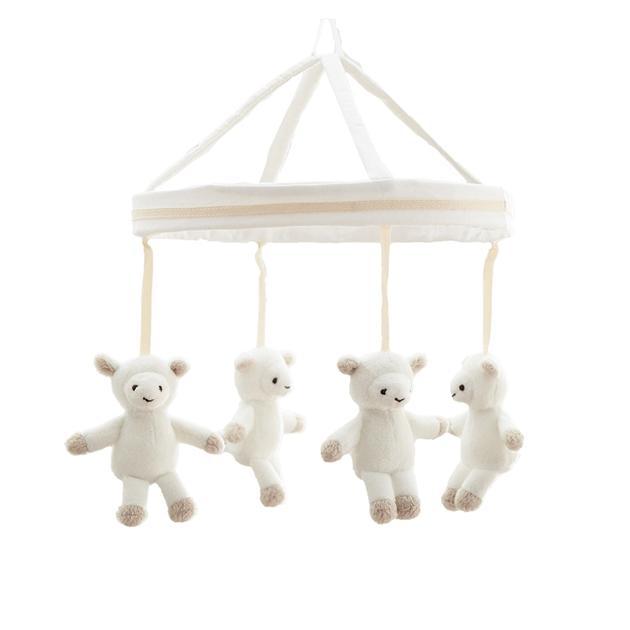 Pottery Barn Kids Harper Lamb Plush Mobile - lamb