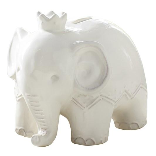 Pottery Barn Kids Elephant Bank- Ivory