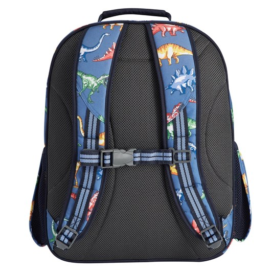 Pottery Barn Kids Mackenzie Backpack Blue Multi Dinos