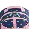 Pottery Barn Kids Mackenzie Backpack Navy Pink Multi Hearts - navy pink