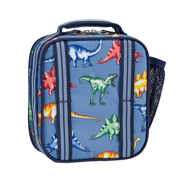 Pottery Barn Kids Mackenzie Classic Lunch Bag - blue multi
