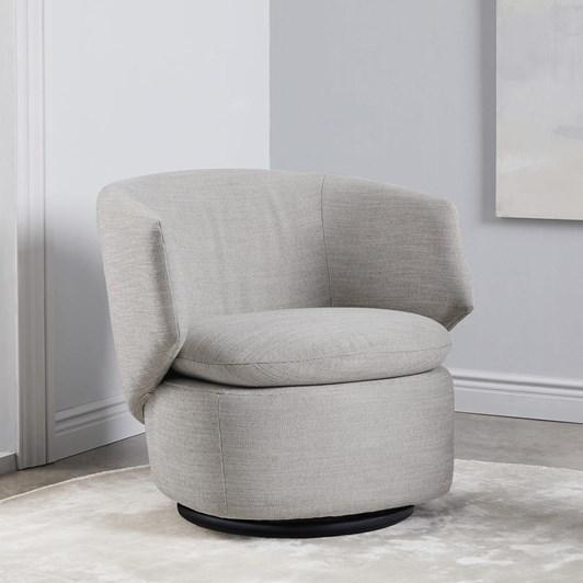 West Elm Crescent Swivel Chair