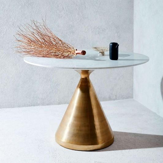 West Elm Silhouette Pedestal Dining Table 112 Cm Diam