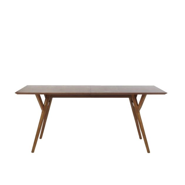 West Elm Mid Century Expandable Table 183 - 234 Cm - walnut