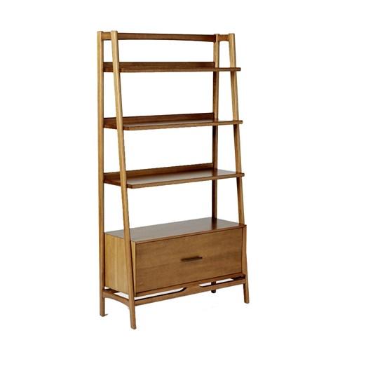 West Elm Mid Century Bookcase (Wide) Acorn