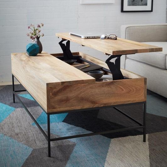 West Elm Industrial Pop Up Coffee Table