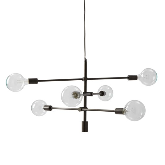 West Elm Mobile Pendant Chandelier: Bronze