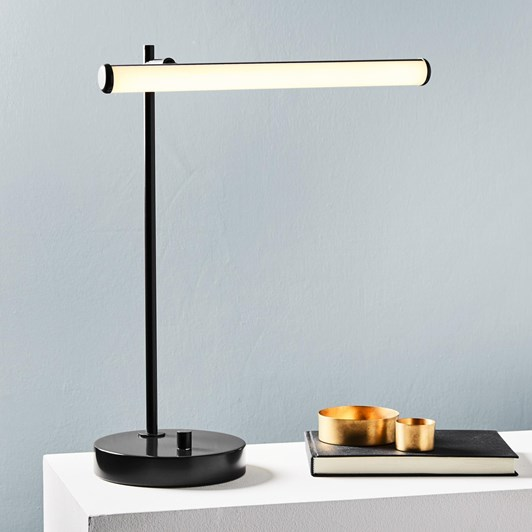 West Elm Light Rods Table Lamp, Bronze