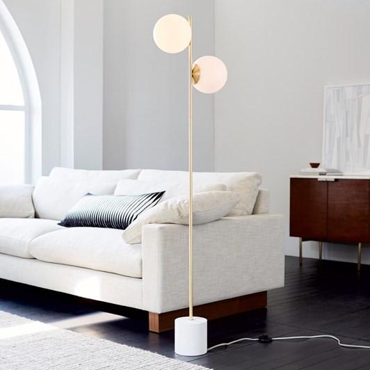 West Elm Sphere & Stem Floor Lamp