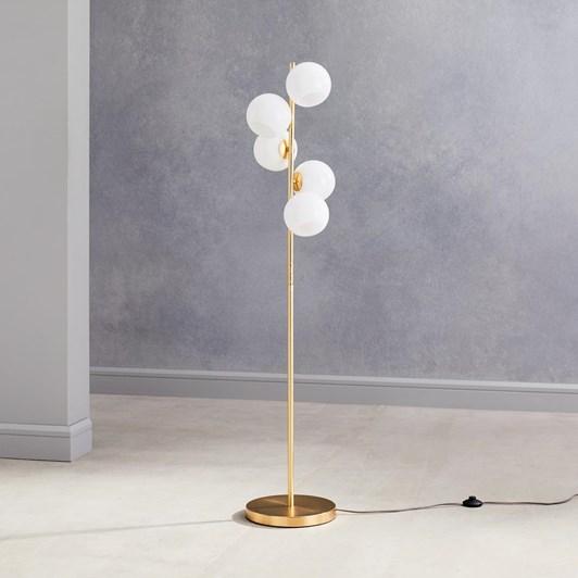 West Elm Staggered Glass 5-Lt Floor Lamp