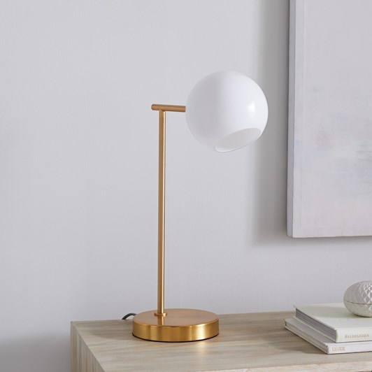 West Elm Staggered Glass Table Lamp