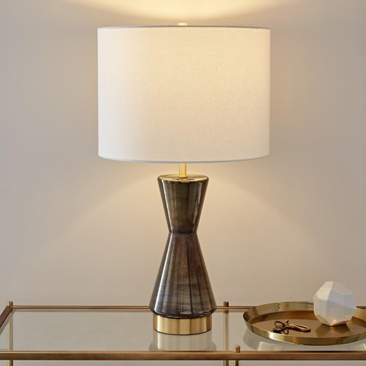 West Elm Metalized Glass Table Lamp