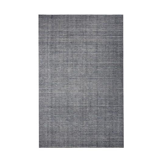 West Elm Terra Stripes Rug Slate 152Cm X 243Cm