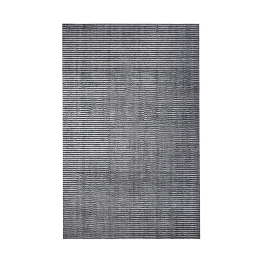 West Elm Terra Stripes Rug Slate 152Cm X 243Cm