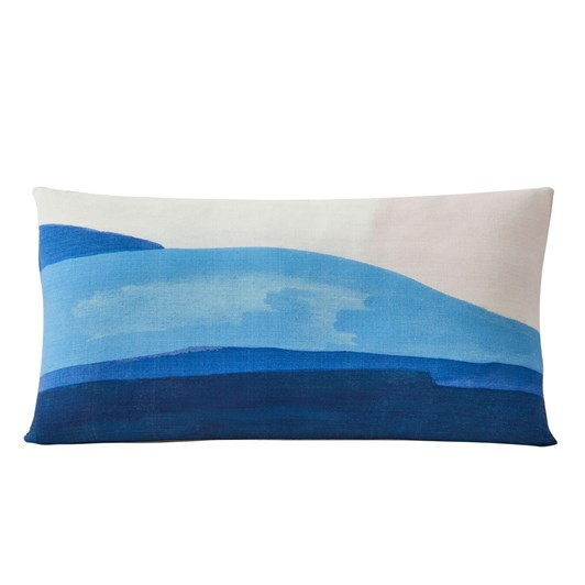 West Elm Painted Canyon Cushion 36X66Cm