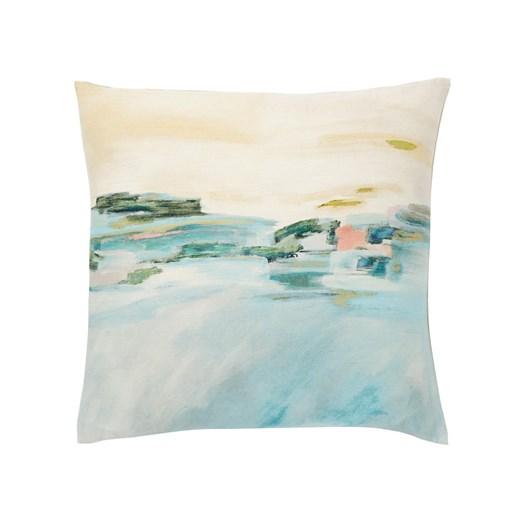 West Elm Impressionist Landscape Cushion 51X51Cm