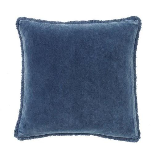 Pottery Barn Fringe Velvet Pillow: 56Cm