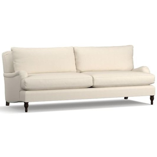 Pottery Barn Carlisle Grand Sofa Flax