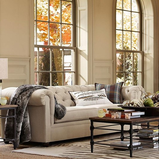 Pottery Barn Resource Chesterfield Sofa