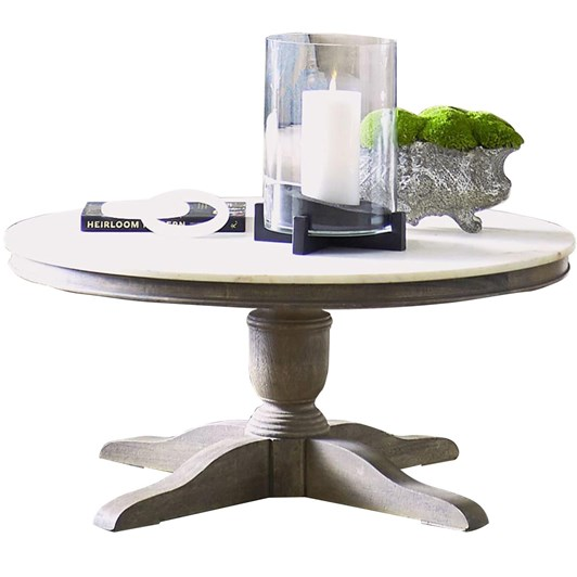 Pottery Barn Alexandra Marble Coffee Table