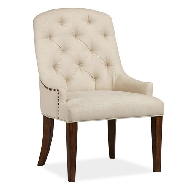 Pottery Barn Lorraine Desk Chair - oak