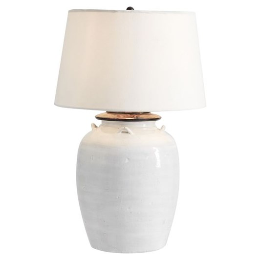 Pottery Barn Ip Courtney Ceramic Lamp Base