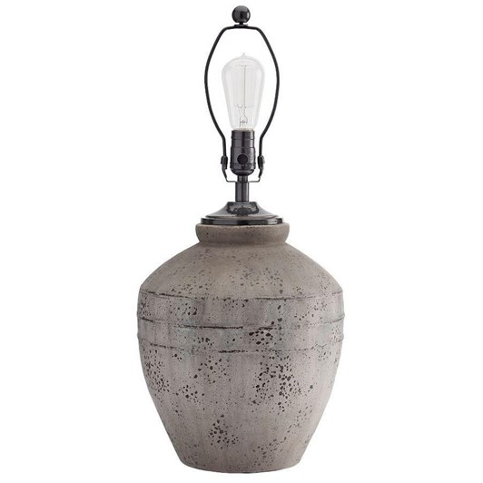 Pottery Barn Ip Maddox Ribbed Rustic Pottery Lamps