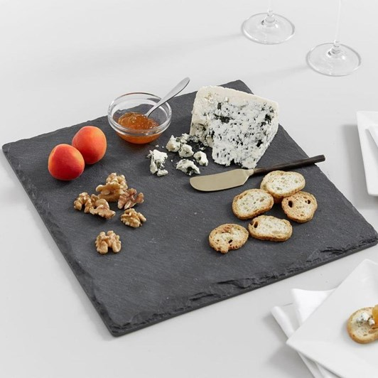 Pottery Barn Slate Square Cheese Board/ Charger