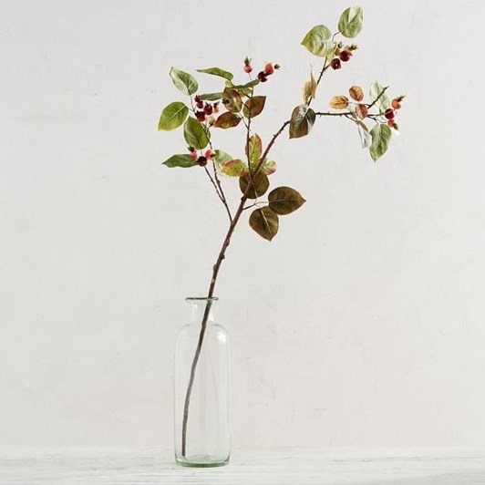 Pottery Barn Rose Hips Branch
