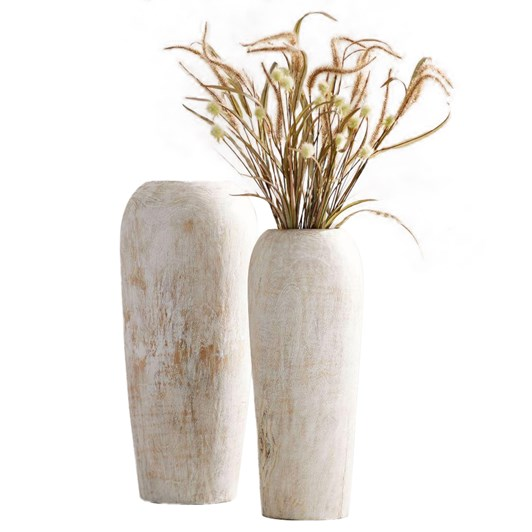 Pottery Barn Wood Vase