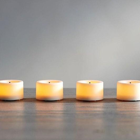 Pottery Barn Flameless Tealights Wax