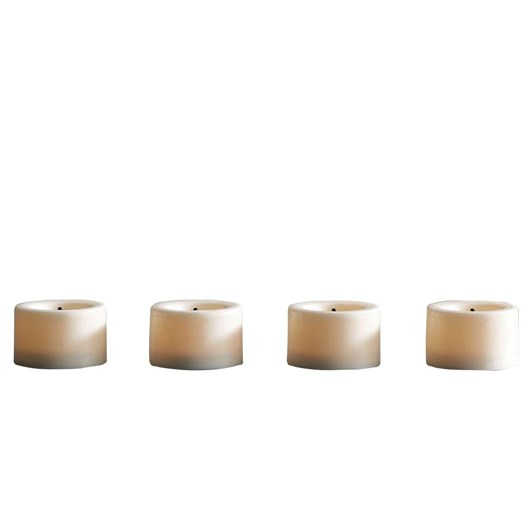 Pottery Barn Flameless Tealights Wax