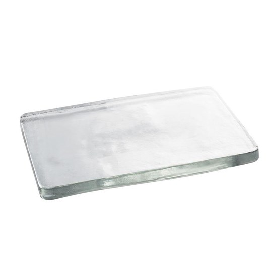 Pottery Barn Slab Glass Cheese Board