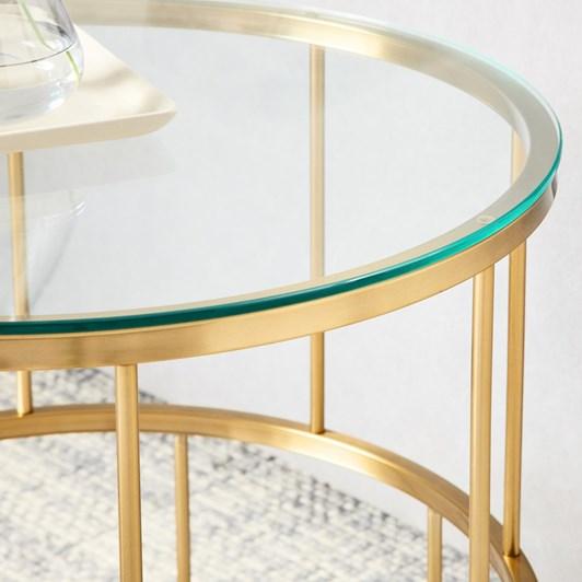 West Elm Deco Lattice Side Table