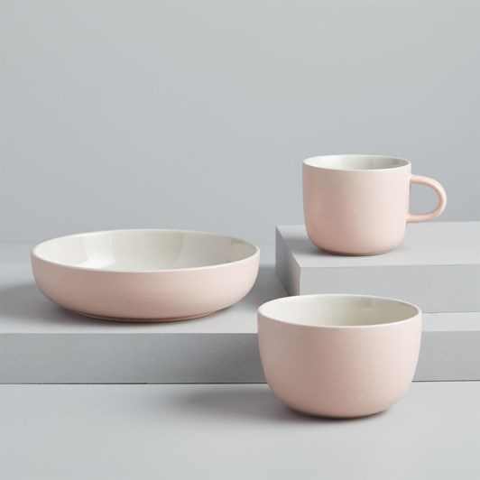 West Elm Kaloh Dinnerware Mug Pink