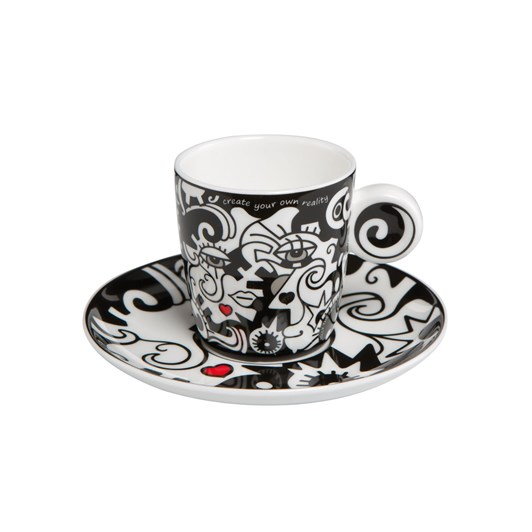 Artis Orbis Billy Two In One Coffee Cup & Saucer