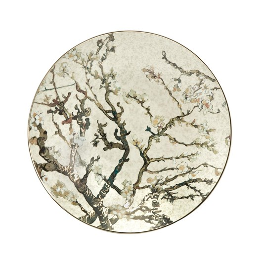 Artis Orbis Van Gogh Silver Almond Tree Plate 34cm