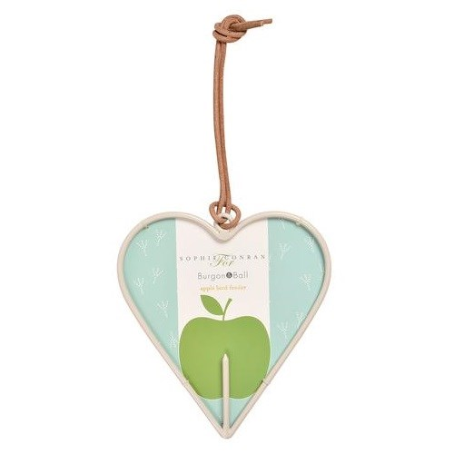 Burgon & Ball Sophie Conran Apple Heart Bird Feeder