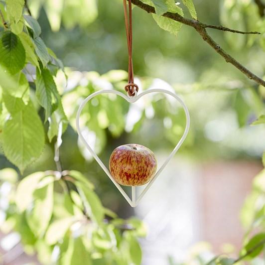 Burgon & Ball Apple Heart Bird Feeder