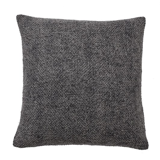 Pottery Barn Faye Textured Linen Pillow 20x20 Inches Charcoal