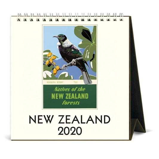 Cavallini New Zealand 2020 Desk Calendar