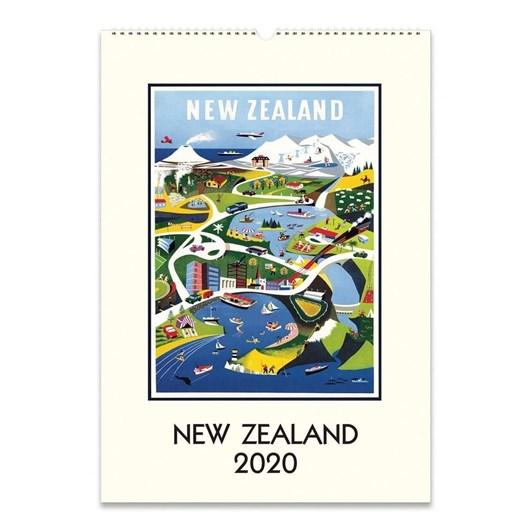 Cavallini New Zealand 2020 Wall Calendar