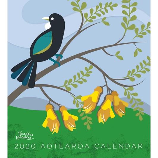 Toodles Noodles Aotearoa 2020 Calendar