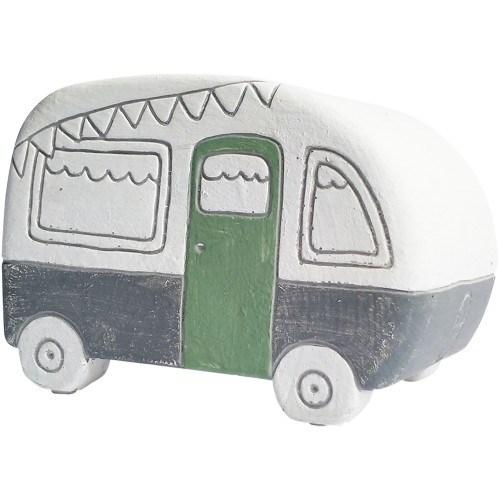 Caravan Planter Green Small 12cm
