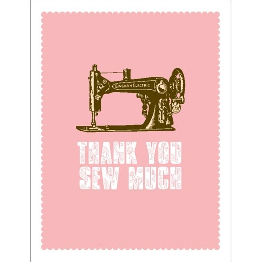 Vevoke Card Thank You Sew Much
