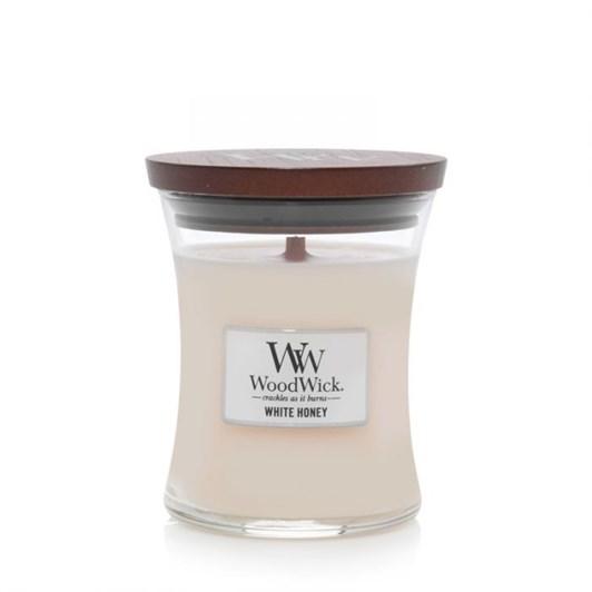 WoodWick White Honey Medium Candle