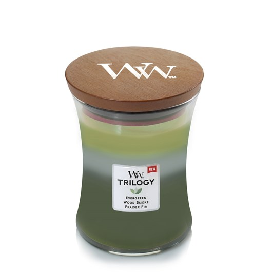 WoodWick Forest Retreat Christmas Trilogy Medium Candle