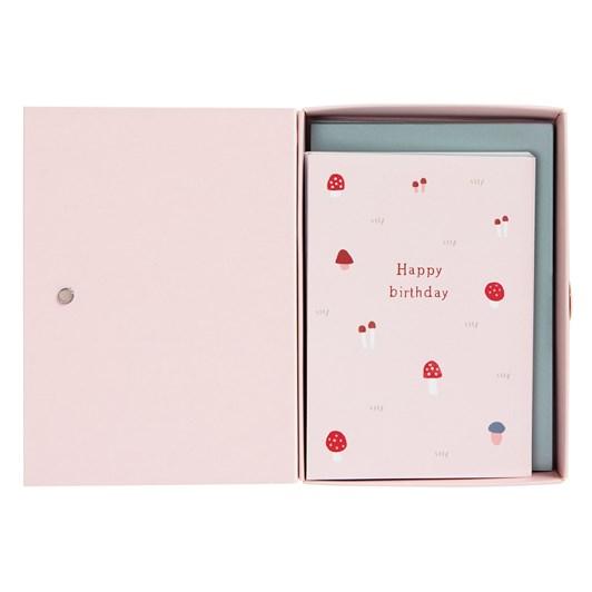 Kikki K Woodland Assorted Greeting Cards Pack Of 15