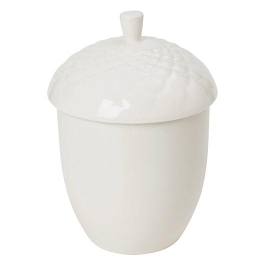 Kikki K Woodland Porcelain Acorn Trinket Box Large