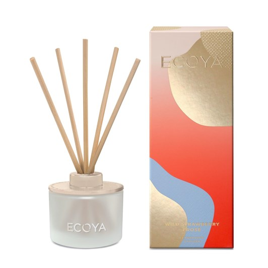 Ecoya Christmas 2019 Mini Reed Diffuser - Wild Strawberry Frosé